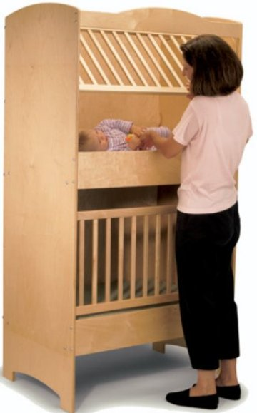 Double decker crib for Double decker crib